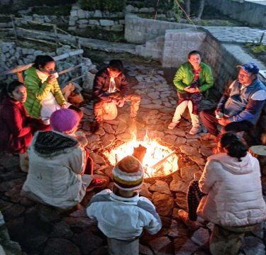 Bonfire with Live Music